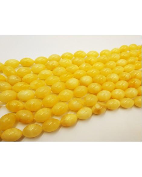 Natural Baltic Amber Modified Yellow Olives Muslim Prayer