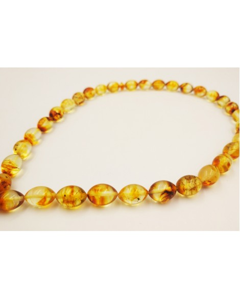 Natural Baltic Amber Modified Light Olives Muslim Prayer